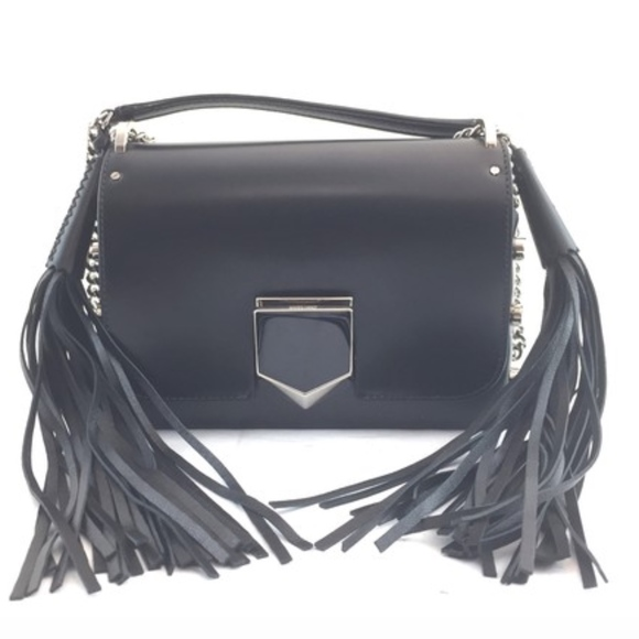 137f20ec85e Jimmy Choo Bags | Lockett Petite Black Leather Cross Body Bag | Poshmark